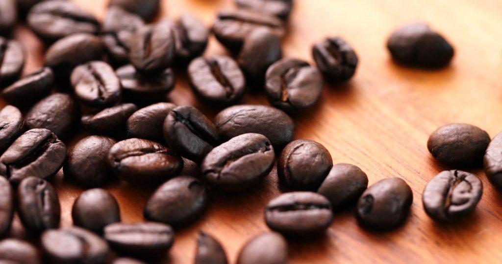 Actifs et propriétés des grains de café