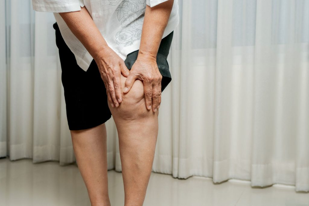 Symptômes de l'arthrose du genou